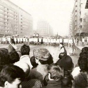 Revoluzione Bucarest (immagine del National History Museum of Romania)