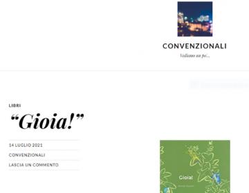 Rassegna stampa Gioia! - Convenzionali 14.07.21