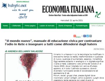 Rassegna stampa Il mondo nuovo - EconomiaItaliana 20.04