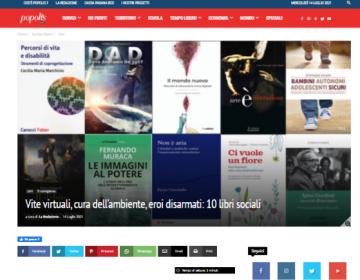 Rassegna stampa Il mondo nuovo - Popolis 14.07.21