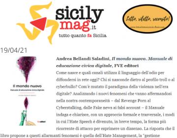 Rassegna stampa Il mondo nuovo - SicilyMag 19.04
