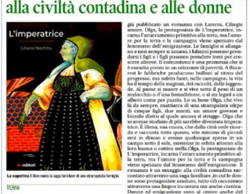 Rassegna stampa L'Imperatrice - Corriere dell'Umbria
