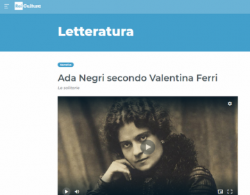 Rassegna stampa Le Solitarie - Rai cultura Letteratura 29.01.21