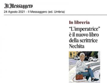 Rassegna stampa L'imperatrice - Il Messaggero 24 08 21