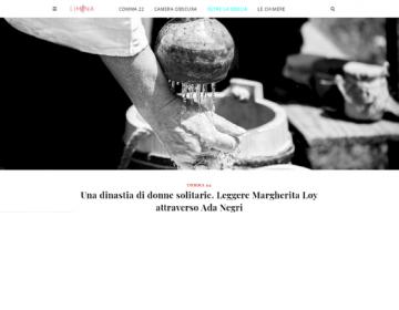 Rassegna stampa Solitarie (schermata) - Liminarivista 03.02.21