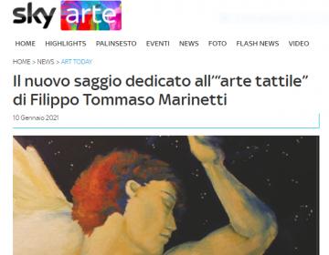 Schermata Sky Arte - Tattilismo