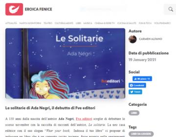 Schermata rassegna stampa Le Solitarie - Eroicafenice - 19.01.21