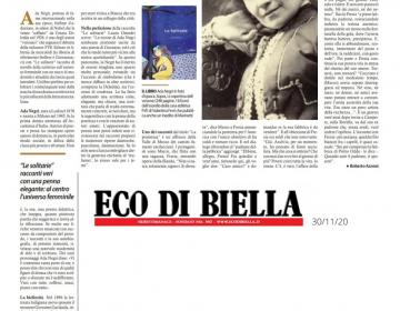 L'Eco di Biella 30/11/2020