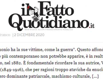 Il Fatto Quotidiano, 2/12/2020
